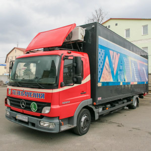 2 Station MakeUp Truck - Mercedes Atego